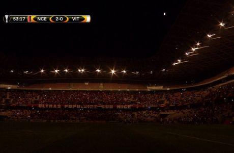 Έσβησαν τα φώτα στο... πανάκριβο γήπεδο της Νις