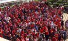 Παρέλαση οπαδών της Μπάγερν στην Βαρκελώνη (VIDEO)
