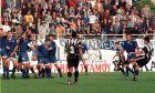 Στιγμιότυπο από αναμέτρηση ΠΑΟΚ-Ιωνικός, της σεζόν 1997-1998