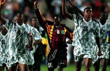 Η εμφάνιση της Νιγηρίας μάς γύρισε πολλά χρόνια πίσω: στο Μουντιάλ του '94