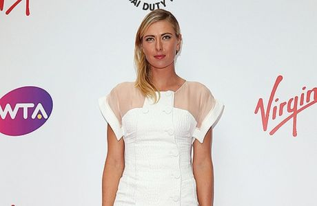 LONDON, ENGLAND - JUNE 19:  Maria Sharapova attends the WTA Pre-Wimbledon party at Kensington Roof Gardens on June 19, 2014 in London, England.  (Photo by Danny Martindale/WireImage)