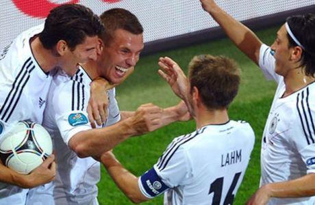 Δανία - Γερμανία 1-2