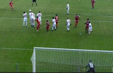 Γκολ με καραμπόλα στο κεφάλι του Παπαδόπουλου η Ίνγκολσταντ