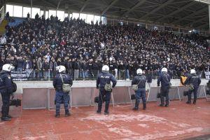 Έπαιξαν κρυφτό με την αστυνομία 300 οπαδοί του ΠΑΟΚ στη Λαμία!
