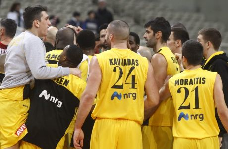 ΤΣΑΜΠΙΟΝΣ ΛΙΓΚ / ΑΕΚ - ΒΕΝΕΤΣΙΑ.  (Eurokinissi Sports - ΔΗΜΟΠΟΥΛΟΣ ΘΑΝΑΣΗΣ)