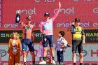Νίμπαλι, Καραπάς, Ρόγκλιτς, το τελικό βάθρο του περσινού Giro.