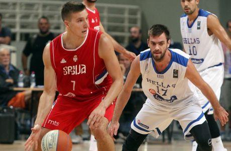 Ο Μπογκντάνοβιτς έβαλε το 1/3 των πόντων της Σερβίας