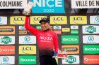 Ο Νάιρο Κιντάνα, νικητής του βασιλικού ετάπ στο φετινό Παρίσι-Νίκαια (14/3/2020).