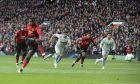 Ο Πολ Πογκμπά της Μάντσεστερ Γιουνάιτεντ σκοράρει κόντρα στην Γουέστ Χαμ σε αναμέτρηση για την Premier League 2018-2019 στο 'Ολντ Τράφορντ', Μάντσεστερ, Σάββατο 13 Απριλίου 2019