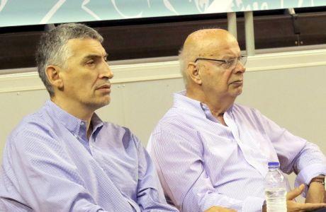 Γιώργος Βασιλακόπουλος και Παναγιώτης Φασούλας συμμετέχουν στην προσωρινή διοίκηση της ΕΟΚ