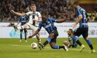 Ο Ρόμελου Λουκάκου της Ίντερ σκοράρει κόντρα στην Πάρμα σε αναμέτρηση για τη Serie A 2019-2020 στο 'Τζιουζέπε Μεάτσα', Σάββατο 26 Οκτωβρίου 2019