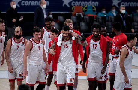 Σκυμμένα κεφάλια στην Κωνσταντινούπολη, όπως συχνά συμβαίνει στα τελευταία ματς του Ολυμπιακού