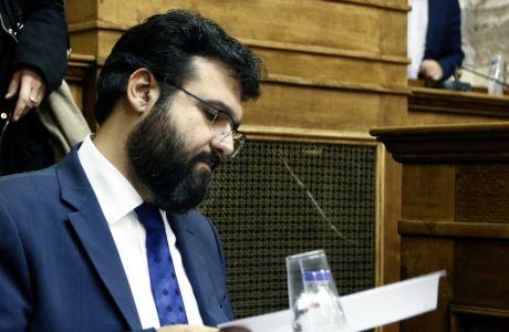 """Κοινή συνεδρίαση των επιτροπών Ευρωπαϊκών Υποθέσεων και Μορφωτικών Υποθέσεων με θέμα """"Ευρωπαϊκές Πολιτικές για την άθληση και την ηθική/δεοντολογία στον αθλητισμό. Η συμβολή της Ελλάδας και το πλαίσιο ανάληψης δράσεων"""" ,ενημέρωση από τον υφυπουργό αθλητισμού Γιώργο Βασιλειάδη,Παρασκευή 24 Νοεμβρίου 2017 (EUROKINISSI/Γιώργος Κονταρίνης)"""