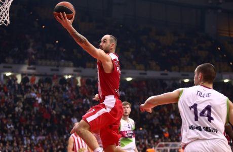 Ολυμπιακός - Μπασκόνια 76-64 (VIDEOS)