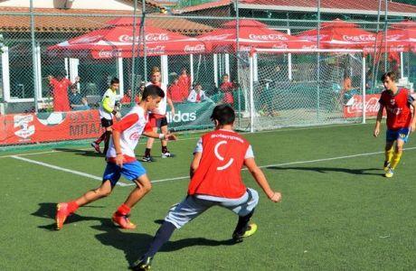 Νέο ρεκόρ ποδοσφαίρου στην Πάτρα για το Coca-Cola Cup