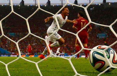 Tα γκολ του Ισπανία-Χιλή (VIDEOS)