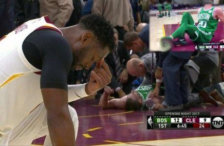 Πρεμιέρα με τραυματισμό σοκ στο NBA