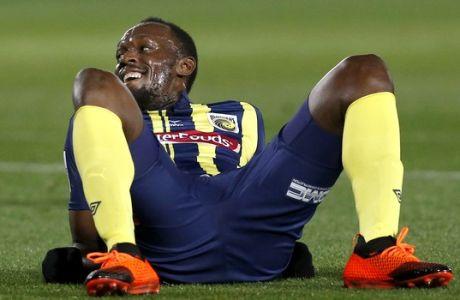 Ο Usain Bolt δεν θα παίξει ποδόσφαιρο (ούτε) στους Mariners