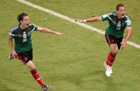 Το 2-0 του Μεξικού