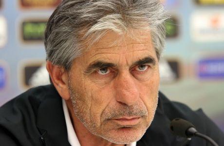 """Αναστασιάδης: """"Έκανα λάθος με τον Τζαβέλλα, έπρεπε να τον είχα καλύψει"""""""