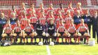 Η PSV Αϊντχόφεν στην επίσημη φωτογραφία της σεζόν 1995/96. Ο Ρονάλντο στην πρώτη σειρά, δεύτερος από αριστερά.