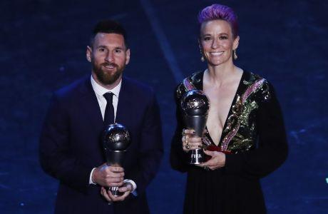 Ο Μέσι κέρδισε το FIFA Men's Player ψηφίζοντας Ρονάλντο