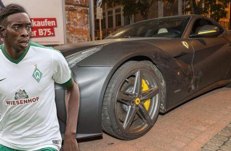 Τράκαρε την Ferrari του Σανέ ο Γιαταμπαρέ!