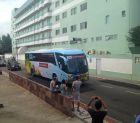 Η ελληνική αποστολή στο ξενοδοχείο (VIDEOS+PHOTOS)