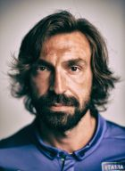 MANGARATIBA, BRAZIL - JUNE 06: (EDITOR'S NOTE: Image was processed using digital filters.)  Andrea Pirlo of Italy poses during the official FIFA World Cup 2014 portrait session on June 6, 2014 in Mangaratiba, Brazil.  (Photo by Shaun Botterill - FIFA/FIFA via Getty Images)