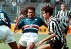 Ο Κριστιάν Καρεμπέ ως ποδοσφαιριστής της Σαμπντόρια, σε αγώνα με τη Γιουβέντους