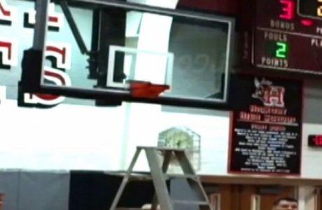 Πτώση στεφάνης από βολή! (VIDEO)
