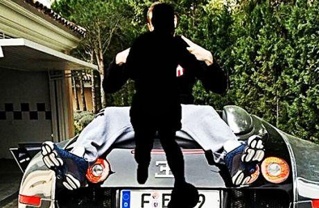 Ποιο super car; Ο Τερ Στέγκεν έχει το καλύτερο μεταφορικό μέσο
