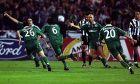 Ο Πάουλο Σόουζα του Παναθηναϊκού πανηγυρίζει γκολ που σημείωσε κόντρα στη Γιουβέντους για την 1η φάση των ομίλων του Champions League 2000-2001 στο Ολυμπιακό Στάδιο | Τετάρτη 8 Νοεμβρίου 2000