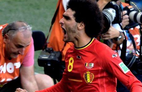Βέλγιο - Αλγερία 2-1 (VIDEO)