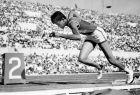 Η Βίλμα Ρούντολφ κατά την εκκίνηση των προκριματικών των 200μ. στίβου στους Ολυμπιακούς Αγώνες 1960, Ρώμη, Σάββατο 3 Σεπτεμβρίου 1960
