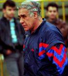 O Nίκος Αλέφαντος εν έτει 1995, ως προπονητής του Πανιωνίου