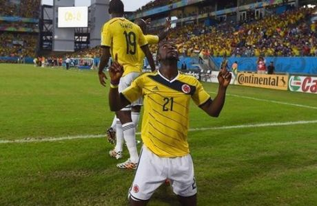 Το 3-1 της Κολομβίας