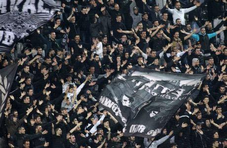 Στο ξενοδοχείο οι οπαδοί του ΠΑΟΚ ενόψει Κυπέλλου