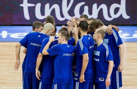 ÅÕÑÙÌÐÁÓÊÅÔ 2017 / ÅËËÁÄÁ - ÖÉÍËÁÍÄÉÁ / EUROBASKET 2017 / GREECE - FINLAND / (Á) (Ä) / (ÖÙÔÏÃÑÁÖÉÁ: EUROKINISSI)