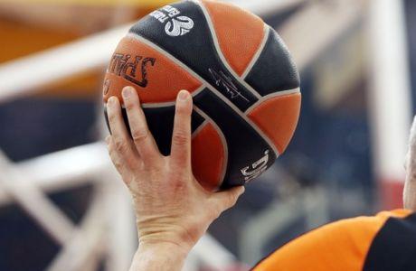 ÅÕÑÙËÉÃÊÁ / ÏÓÖÐ - ÆÁËÃÊÉÑÉÓ ÊÁÏÕÍÁÓ / EUROLEAGUE / OLYMPIAKOS - ZALGIRIS KAUNAS (ÔÁÊÇÓ ÓÁÃÉÁÓ / Eurokinissi Sports)
