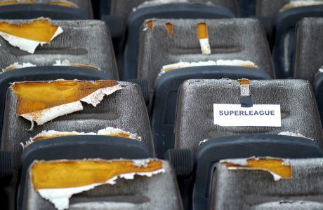 Εικόνα παρακμής στο γήπεδο της Κέρκυρας