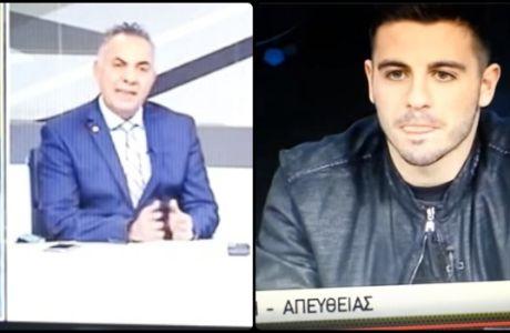 Ο Γαλανόπουλος... αποστόμωσε τον Γιώργο Μίνο!