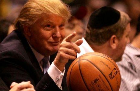 Δεν γουστάρει το μπάσκετ ο Τραμπ και το έδειξε!