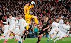 Ρεάλ Μαδρίτης και Μάντσεστερ Σίτι από αγώνα του περσινού Champions League (26/2/2020).