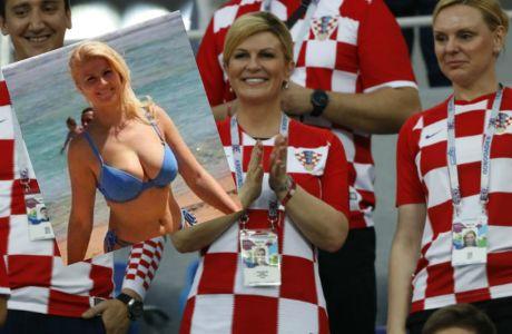 Δώστε τώρα το Μουντιάλ στην πρόεδρο της Κροατίας!