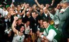 Ο Παναθηναϊκός έχει μόλις κατακτήσει το Κύπελλο Πρωταθλητριών στο Παρίσι