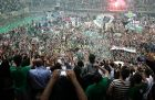 PHOTOSTORY: Η νίκη τίτλου του Παναθηναϊκού και η απονομή