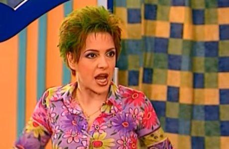 Με μαλλί αλά... Ελένη Βλαχάκη ο Νεϊμάρ!