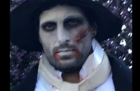Έτοιμος για το... Walking Dead ο Τσόρι!