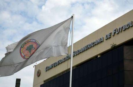Αναβολή σε όλους τους αγώνες της CONMEBOL